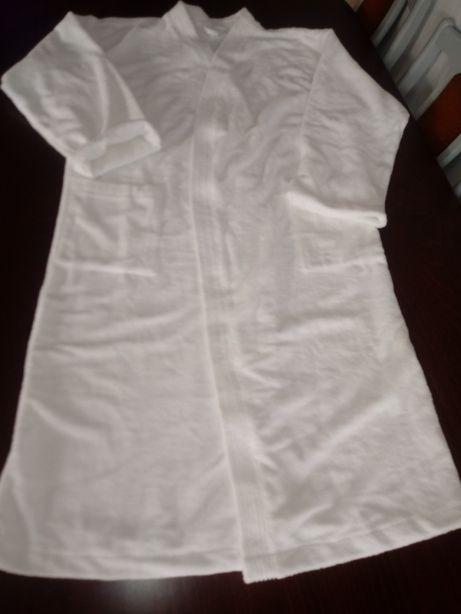 Biały szlafrok kimono nowy
