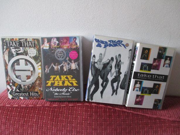 Cassetes VHS -Take That
