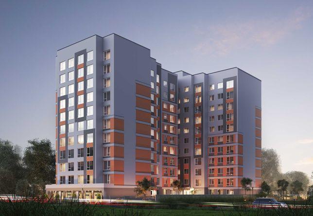 Односпальнева квартира з балконом та гардеробною поблизу центру