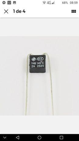 10 PCs fusível térmico 2A 145⁰c
