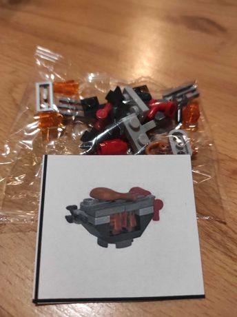 Lego Mini Zestaw - Grill Świąteczny z udkiem kurczaka
