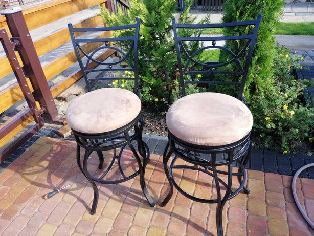 Krzesla barowe - bardzo ladny wyglad!