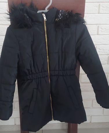 Kurtka zimowa, płaszczyk h&m r.110