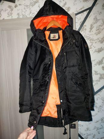Парка куртка черная