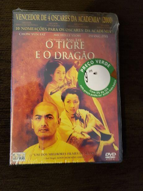 DVD novo e selado, O Tigre e o Dragão