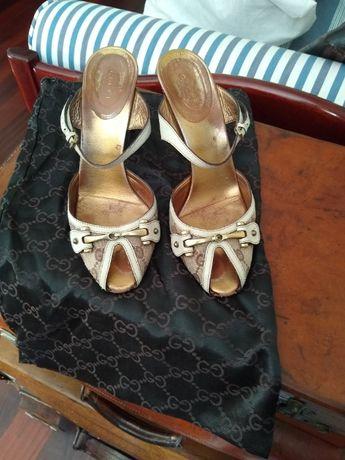 Sandálias Gucci originais