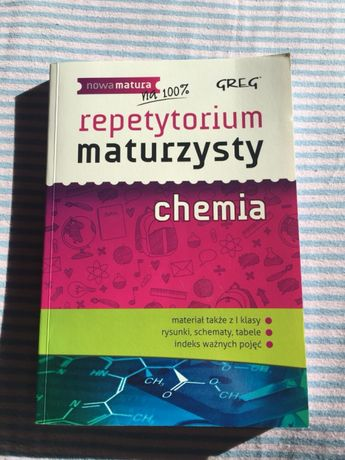 Repetytorium maturzysty z chemii GREG