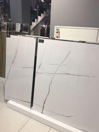 Plytka gresowa sahara bianco 60x120 marmur