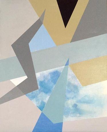 Obraz abstrakcyjny na płótnie wym. 50x61
