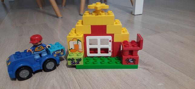 Zestaw kreatywny lego duplo autko