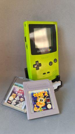 Game Boy Colour a funcionar a 100% + 2 Jogos