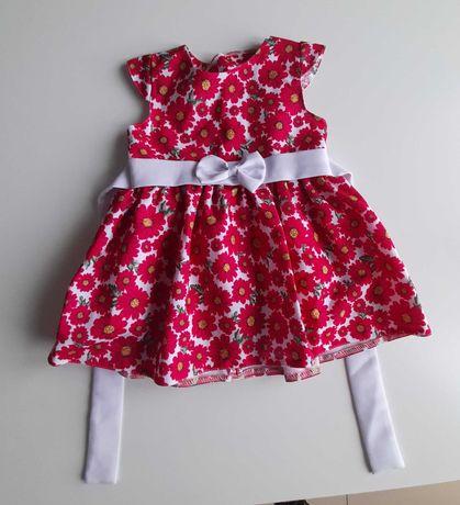 Sukienka r. 86 produkt polski jak nowa