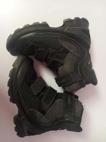 Зимние термосапоги ботинки ecco goretex 31р.