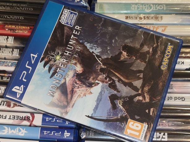 Monster Hunter World PS4 PL sklep Ursus