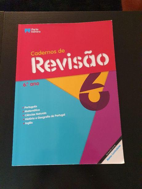Cadernos de Revisão 6ºano