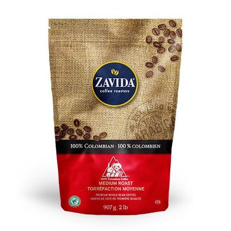 "Кофе Zavida Colombian 100% ""Колумбия 100%"" Обжарка Средняя"