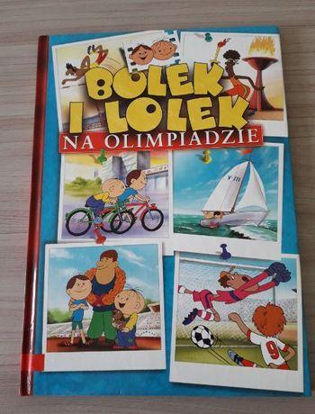 Książka Bolek i Lolek na olimpiadzie