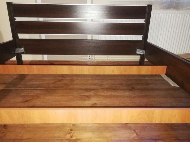 Łóżko sypialniane 170x200 (rama)- kolor wenge