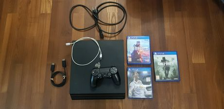 Playstation 4 Pro PS4 Pro pad fifa 2018 battlefield 5 Call of duty