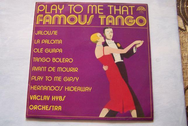 Famous Tango, Play to me that, płyta winylowa
