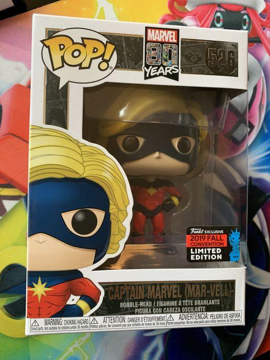 Funko pop Marvel Captain marvel (Mar-vell) 2019 Nr 526 Osiny - image 1