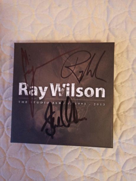 RAY WILSON studio albums 93-03 2cd RARYTAS