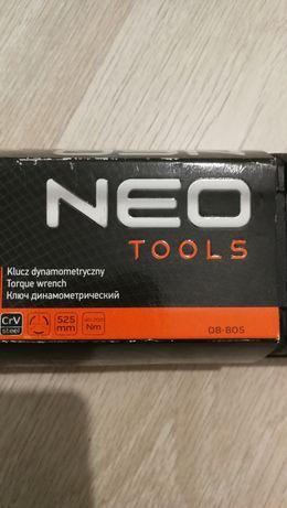 """Nowy klucz dynamometryczny NEO Tools 08-805 1/2"""", 40-200 Nm"""