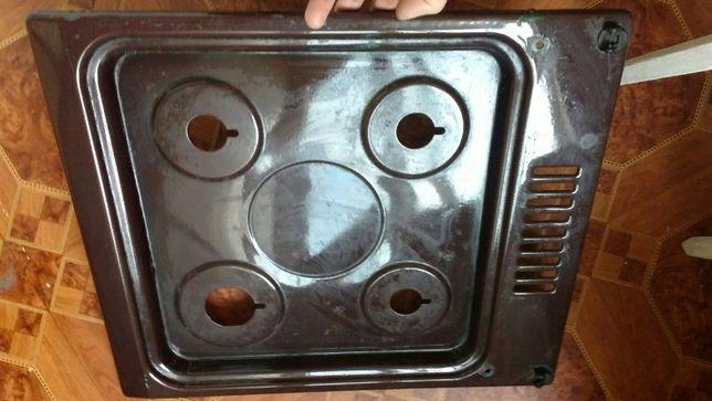 Эмалированная-(коричневая) поверхность-газ.плиты-СССР