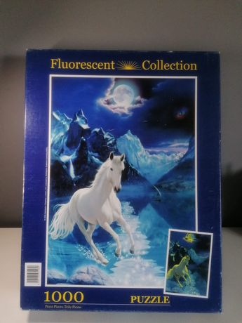 Puzzle fluorescencyjne 1000