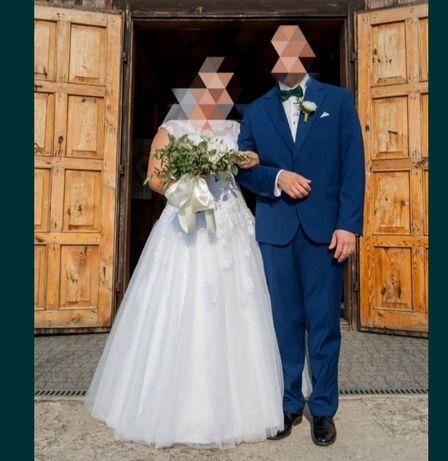 Biała suknia ślubna 42/44