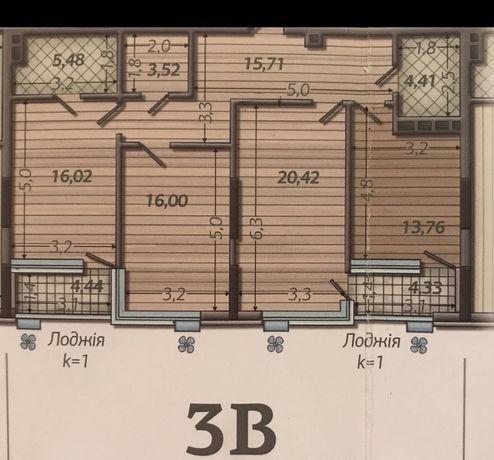 Продам  3-х комнатную квартиру ЖК Французкий  квартал 2
