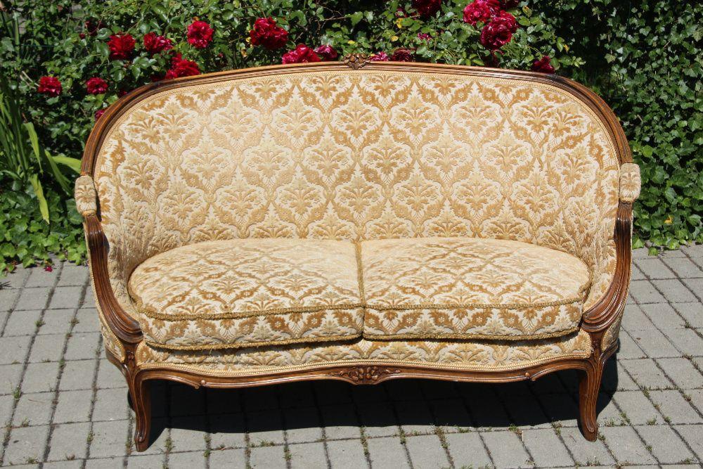 Pałacowa sofa Berżera Ludwik Dobrzany - image 1