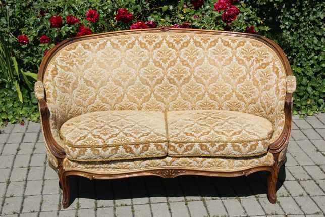 Pałacowa sofa Berżera Ludwik