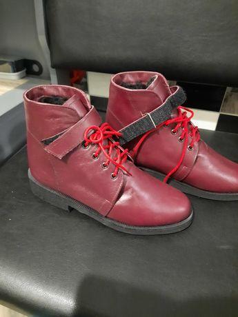 Ортопедические зимние ботинки сапоги