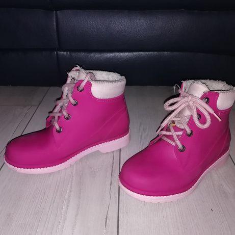 Сапоги сапожки резиновие Гумові чобітки
