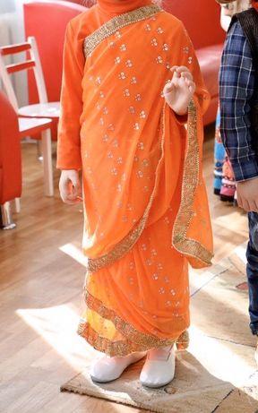 Сари, индийский костюм на утренник 4-10 лет