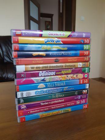 Płyty DVD bajki dla dzieci