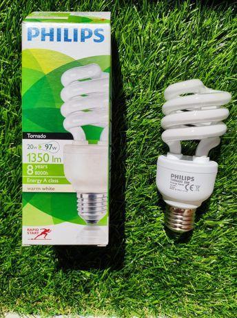 Энергосберегающая Лампа PHILIPS - Экономка люминесцентная