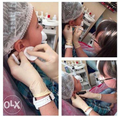 Косметолог.Шугаринг.Прокалывание ушей.Вакуумный массаж.Прессотерапия