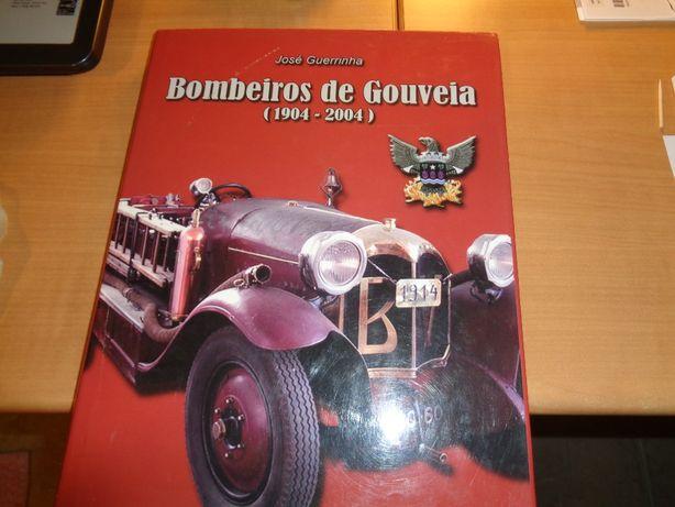 Livro Bombeiros de Gouveia 217 Páginas Oferta Envio Registado