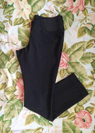 Eleganckie spodnie ciążowe ASOS czarne S 36 ubrania odzież cygaretki