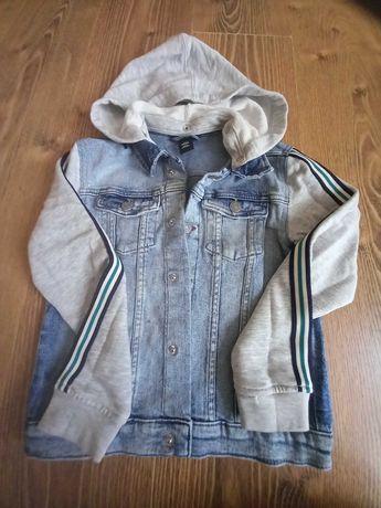 Kurtka/katana jeansowa 128 h&m