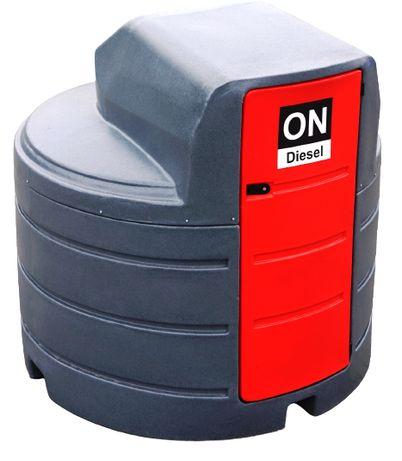 Zbiornik dwupłaszczowy / NOLEN / paliwo paliwa olej napędowy 2500L
