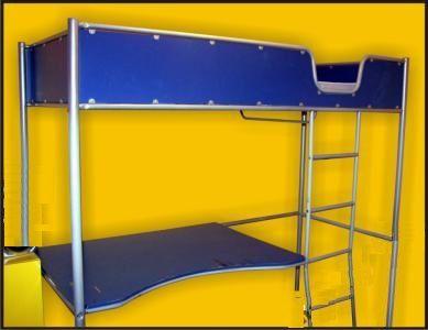 Antresola IKEA łóżko plus biurko
