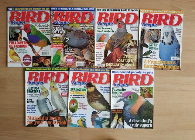 Czasopisma w języku angielskim dotyczące hodowli ptaków .