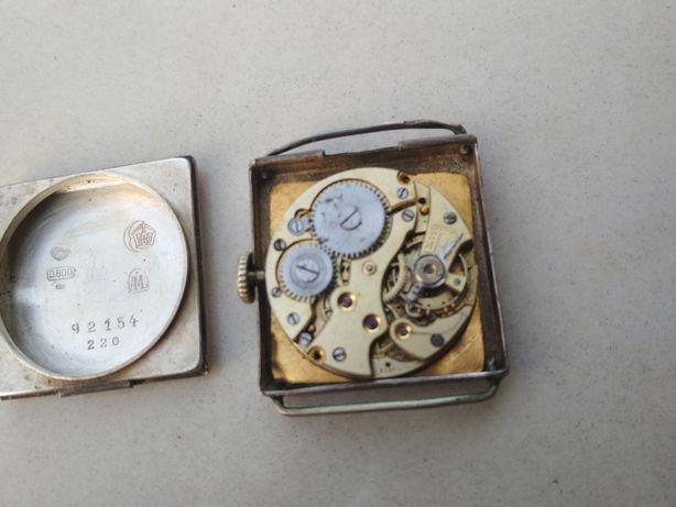 Stary zegarek srebro