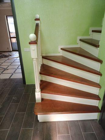 Виготовлення дерев'яних виробів двері сходи арки
