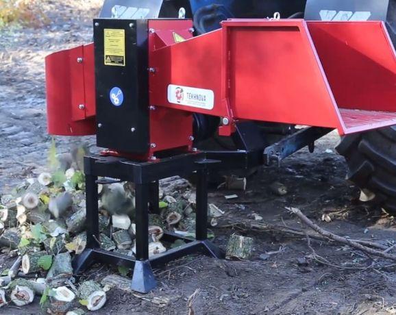 Подрібнювач, измельчитель веток под трактор 130