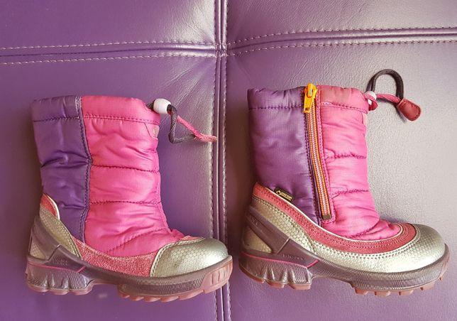 Buty zimowe, kozaki, kozaczki dziecięce, śniegowce ECCO rozmiar 26,w16