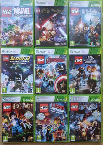 Gry Xbox 360 LEGO Harry Potter przygoda Avengers Hobbit Star Wars
